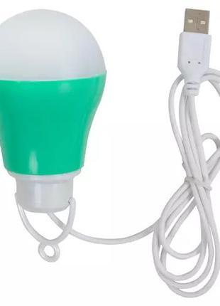 USB LED лампочка, лампа, светильник, 5 Вт