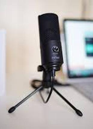 FIFINE K669.Лучшый черный USB микрофон.В НАЛИЧИИ