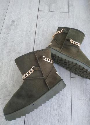 Угги женские, зимняя обувь