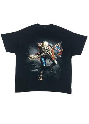 Iron maiden футболка рок-группа 2013
