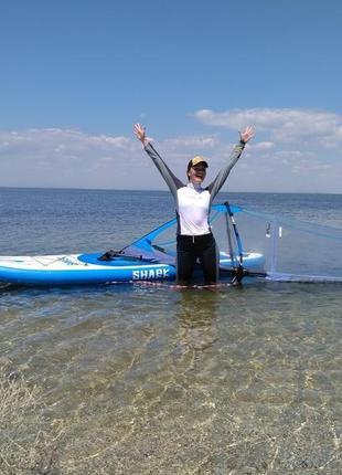 Надувной Сап борд, Sup доска Red Paddle 10'7 Ride Windsup
