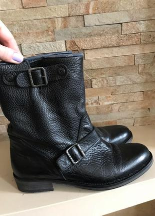 Суперские кожаные ботинки tommy hilfiger оригинал