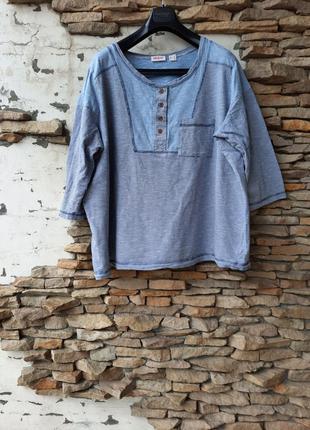 Стильный пуловер, рубашка 👕большого размера
