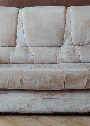 Мягкий уголок: диван и два кресла