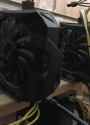 Ферма, майнинга 6 карт GeForce GTX 1060 3Gb