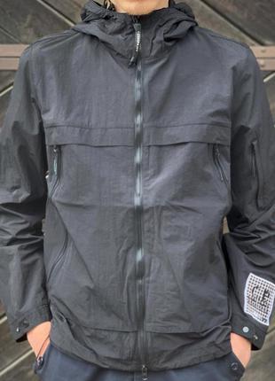 Вітровка парка куртка c.p. company cp company black