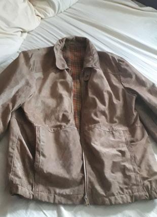 Кожаная мужская новая куртка, срочно!