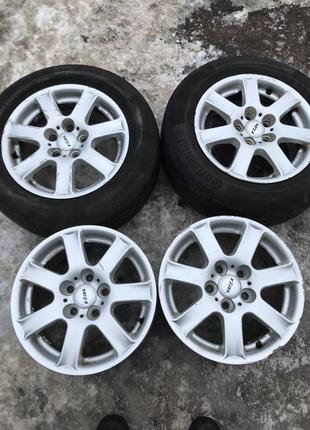 Диски R15, 5*110, et39, 7J, dia65.1, Rial. Opel,Saab