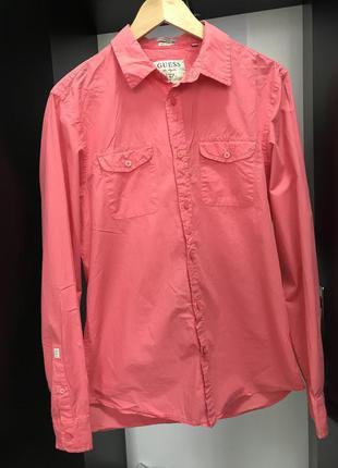 Рубашка, рубашка мужская, рубашка Guess, мужская рубашка р.М,
