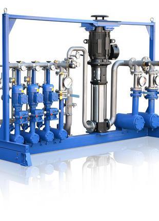 Установки компаундирования смесевых многокомпонентных топлив УСБ
