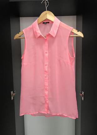 Блуза, женская блузка, блуза розовая, блузка р.S,красивая блузка