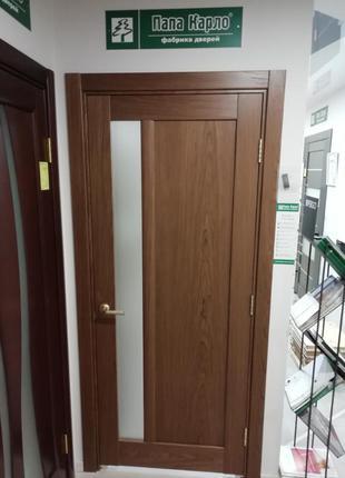 Двери межкомнатные Папа Карло CP-03 Орех Итальянский