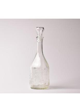 Ретро графин, винтажный графин для вина, ретро декор, графин ссср