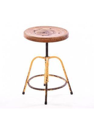 Стул барный loft дизайн, табурет металлический, промышленный стул