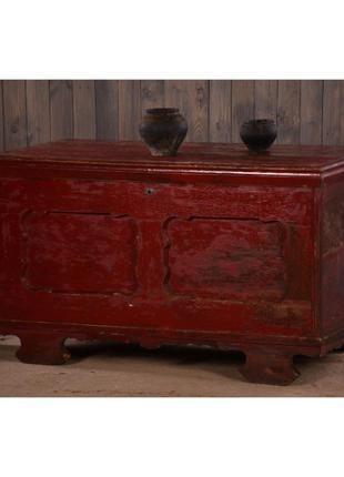 Винтажный сундук, скрыня деревянная ссср, ретро комод, ретро м...
