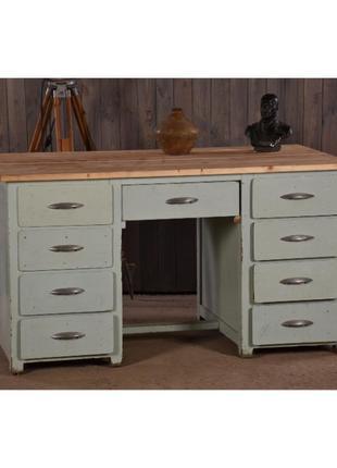 Раскладной стол, деревянный стол с шухлядами, ретро стол, рабо...