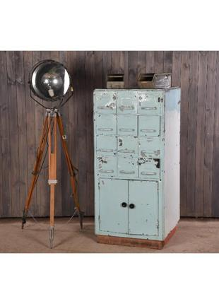 Металлический картотечный шкаф, промышленный шкаф с ящиками, л...