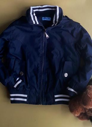 Куртка на флисе на 3 года
