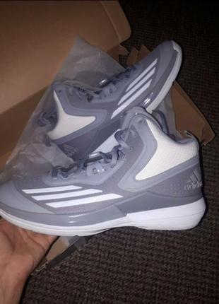 Баскетбольные кроссовки adidas us11.5-46