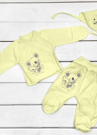 Комплект для новорожденных коалы