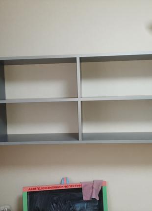 Полка навесная на стену для гостиной, детская, для книг