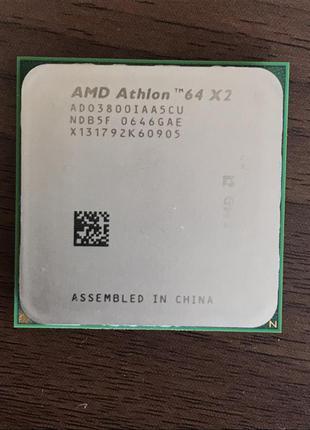 Процессор AMD Athlon 64 X2 3800+ (AM2) 2 ядра по 2.0 GHZ