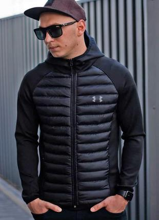 Куртка мужская стеганная с принтом under armour / куртка чолов...