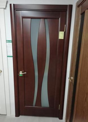 Двери межкомнатные Папа Карло Модель Леди -Р