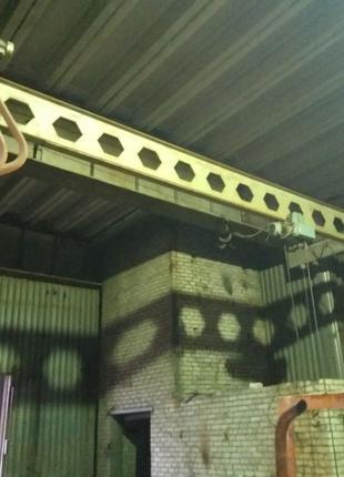 Кран балка подвесная. Длинна 10 метров. комплектная