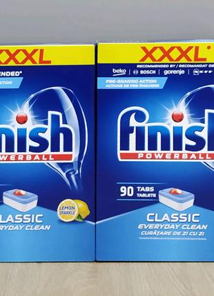 Таблетки для ПММ Finish ( фініш) Classic  90 лимон