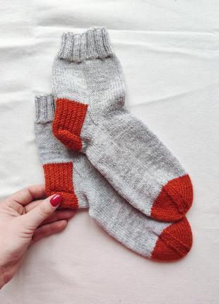 Вязаные носки, домашние носки, женские носки