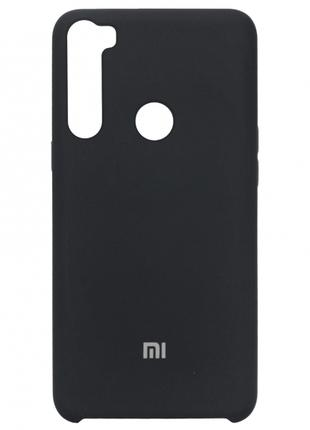 Накладка Silicone Cover for Xiaomi Redmi Note 8 Grey