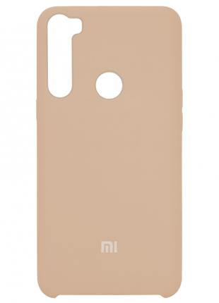 Накладка Silicone Cover for Xiaomi Redmi Note 8 Pink Sand
