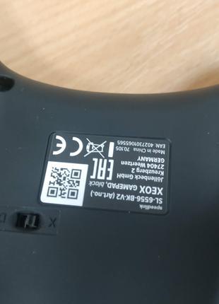Геймпад SPEEDLINK XEOX Pro Analog (SL-6556-BK)-007996