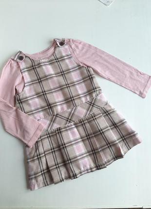 Сарафан на 3-5 лет платье реглан