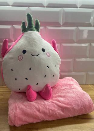 Іграшка-плед-подушка