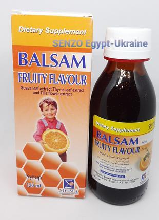 Balsam Fruity Flavour сироп от кашля без сахара Египет