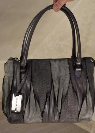Coccinelle сумка женская кожаная брендовая. италия. оригинал.