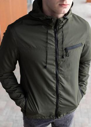 Куртка мужская демисезонная хаки / куртка чоловіча демісезонна...