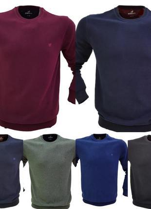 Демисезонный мужской свитер-пуловер, мягкий кашемир