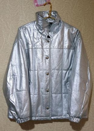 Куртка пуховик кожа кожаная