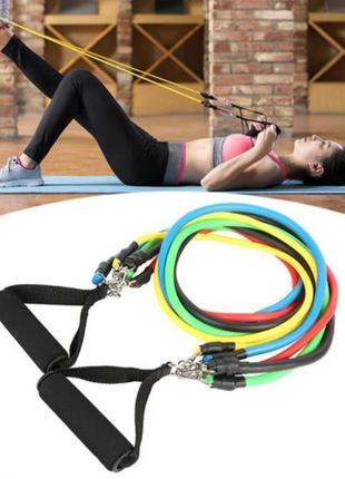 Эспандеры для фитнеса и упражнений, набор
