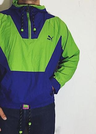 Винтажная куртка puma