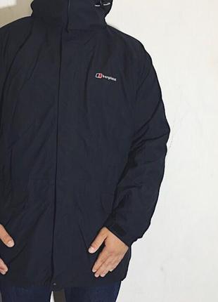 Мужская куртка с родным флисовым подкладом berghaus
