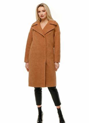 Пальто женское демисезонное длинное осень - весна