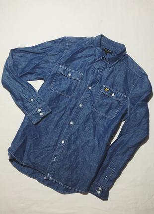 Мужская рубашка lyle scott vintage