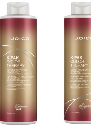 Joico k-pak color therapy шампунь и кондиционер 1000ml+1000ml