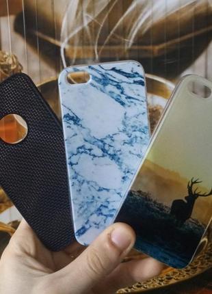 Чехлы для iPhone 5, 5S, SE (Силикон)