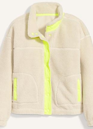 Куртка из шерпы