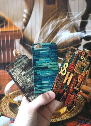 Чехлы для iPhone 5, 5S, SE (Пластик; в ассортименте)